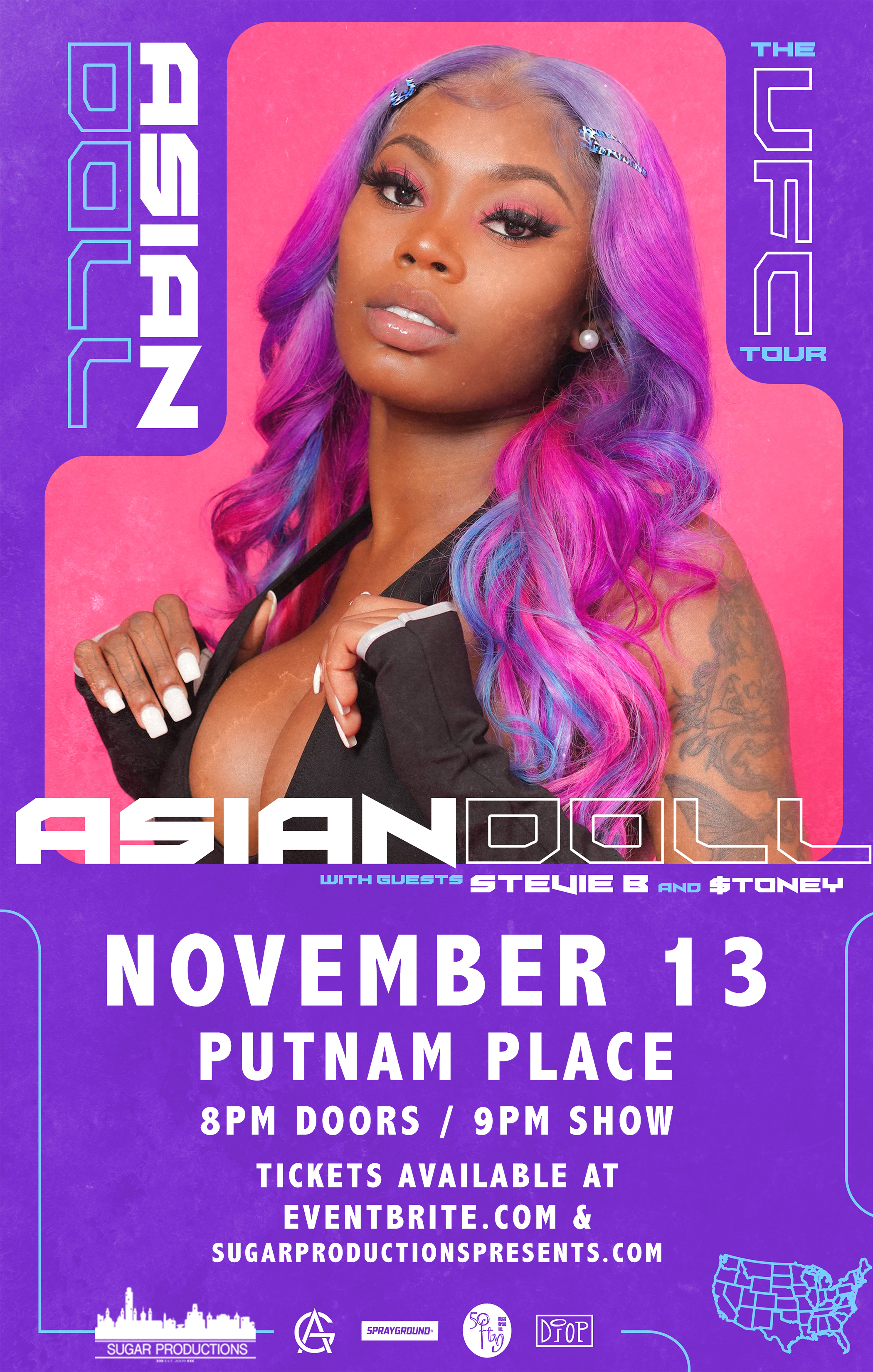 Asian Doll at Putnam Place in Saratoga Springs NY